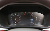 Volvo XC60 digital instrument cluster