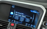 Volvo XC60 infotainment system