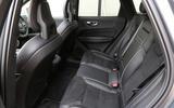 Volvo XC60 rear seats