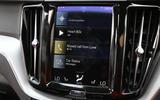 Volvo XC60 Sensus infotainment system