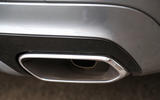 Volvo XC60 rear dual exhaust