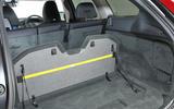 Volvo XC60 underfloor storage