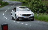 Volvo V40 Cross Country cornering
