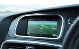 Volvo V40 instrument cluster