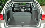 Volkswagen Passat Alltrack extended boot space