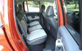 Volkswagen Amarok Canyon rear seats