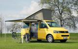 Volkswagen California motorhome set-up