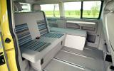Volkswagen California rear seating