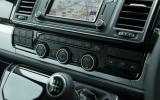 Volkswagen Caravelle climate controls