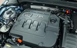 1.6-litre Volkswagen Golf Bluemotion diesel engine