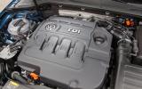2.0-litre Volkswagen Golf estate diesel engine