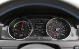 Volkswagen Golf GTE instrument cluster