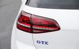 Volkswagen Golf GTE rear lights