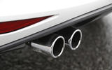 Volkswagen Golf GTE twin-exhausts