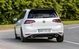 Volkswagen Golf GTI Clubsport S rear cornering