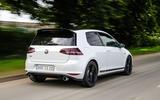 Volkswagen Golf GTI Clubsport S rear