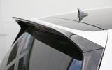 Volkswagen Golf GTI Clubsport S roof spoiler