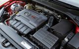 2.0-litre TSI Golf GTI engine