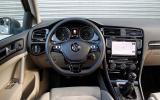Volkswagen Golf dashboard