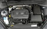 The 2.0-litre TSI Volkswagen Golf R engine, which puts out 296bhp