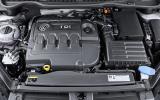 Volkswagen Golf SV engine bay