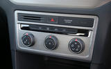Volkswagen Golf SV climate controls