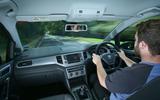 Driving the Volkswagen Golf SV