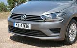 Volkswagen Golf SV front end