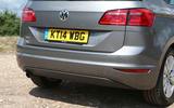 Volkswagen Golf SV rear end
