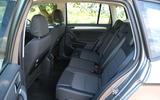 Volkswagen Golf SV rear seats