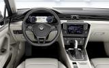 VW Passat dashboard