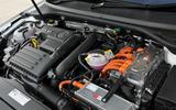 Volkswagen Passat GTE hybrid engine
