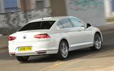 Volkswagen Passat GTE rear cornering