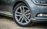 18in alloys are standard with GT trim Volkswagen Passats
