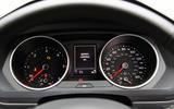 Volkswagen Tiguan instrument cluster