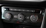Volkswagen Tiguan climate controls