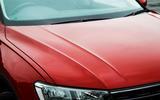 Volkswagen Tiguan clamshell bonnet