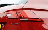 Volkswagen Tiguan rear lights