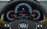 Volkswagen Up instrument cluster
