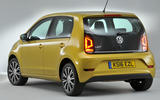 Volkswagen Up rear quarter