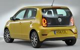 Volkswagen Up rear quarter