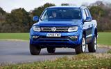 Volkswagen Amarok cornering