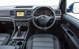 Volkswagen Amarok dashboard