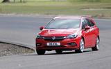 Vauxhall Astra Sports Tourer cornering