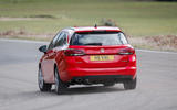 Vauxhall Astra ST rear cornering