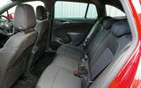 Vauxhall Astra ST rear seats