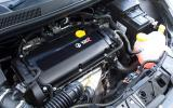 1.6-litre Vauxhall Corsa VXR Clubsport engine