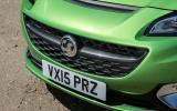 Vauxhall Corsa VXR front grille