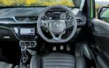 Vauxhall Corsa VXR dashboard