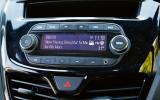 Vauxhall Viva infotainment system